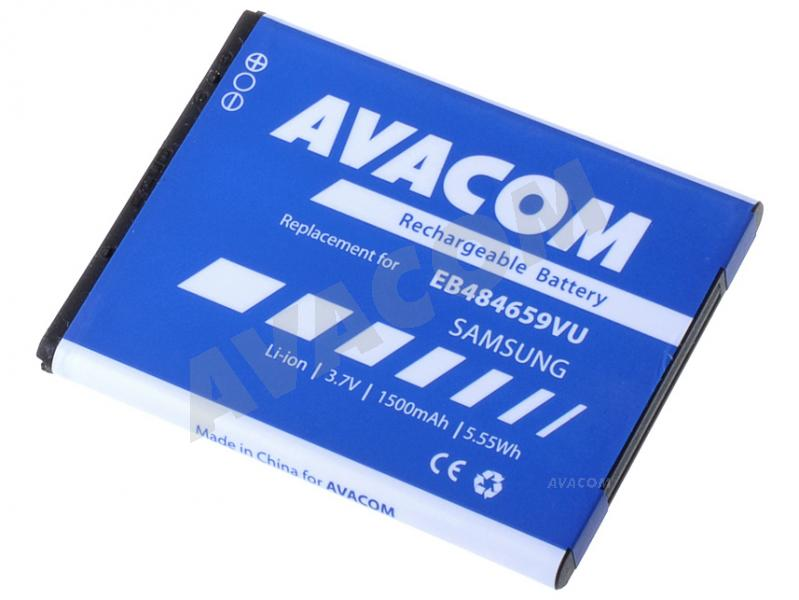 Náhradní baterie AVACOM Baterie do mobilu Samsung Li-Ion 3,7V 1500mAh pro S5820 (náhrada EB484659VU) - GSSA-S5820-S1500A