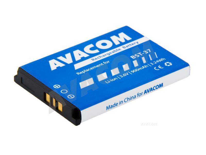Náhradní baterie AVACOM Baterie do mobilu Sony Ericsson K750, W800 Li-Ion 3,7V 900mAh, (náhrada BST- - GSSE-K750-900