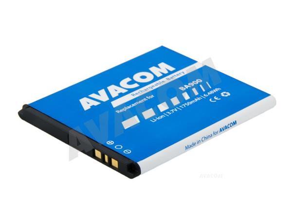 Náhradní baterie AVACOM Baterie do mobilu Sony Xperia L Li-Ion 3,7V 1750mAh, (náhrada BA900) - GSSE-BA900-1750