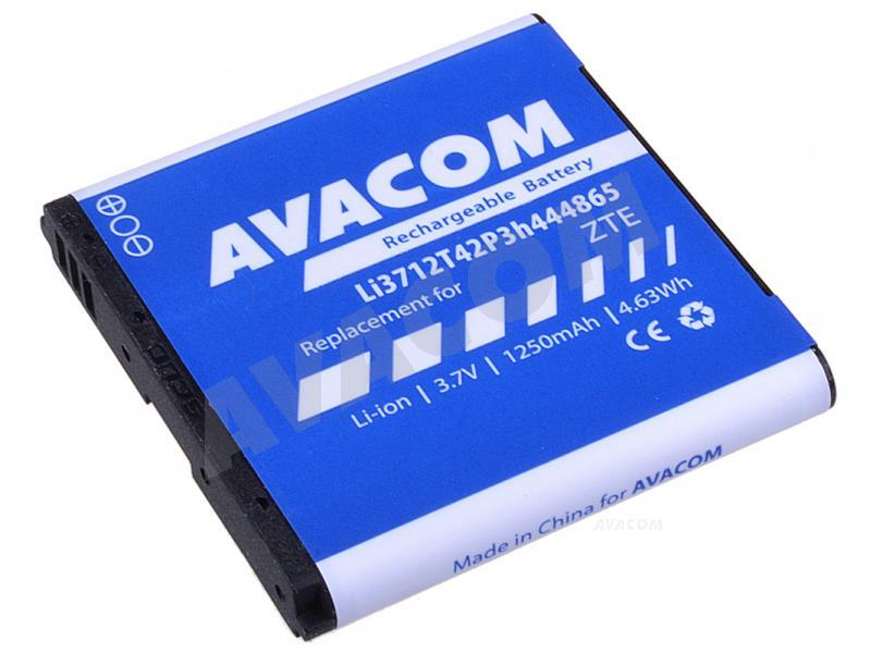 Náhradní baterie AVACOM Baterie do mobilu ZTE Blade Li-Ion 3,7V 1250mAh (náhrada Li3712T42P3h444865) - GSZT-BLADE-S1250A
