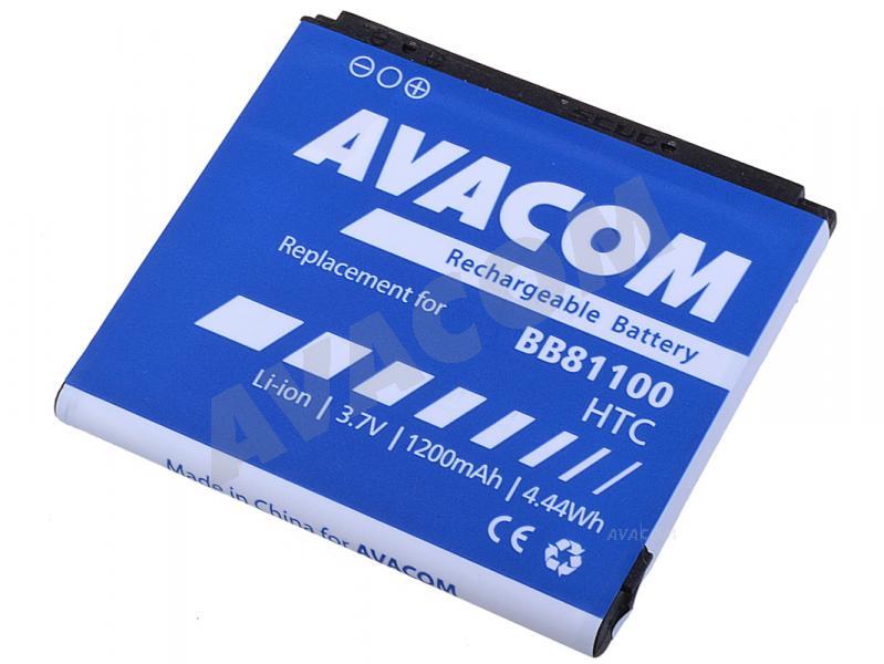 Náhradní baterie AVACOM Baterie pro HTC HD2 Li-Ion 3,7V 1200mAh BA-S400 (náhrada BB81100) - PDHT-HD2-S1200A