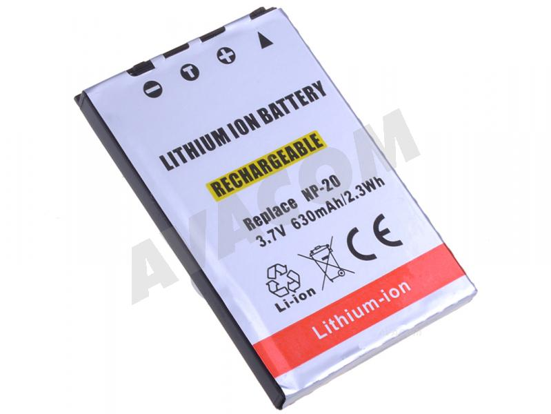 Náhradní baterie AVACOM Casio NP-20 Li-Ion 3.7V 630mAh 2.3Wh - DICS-NP20-043