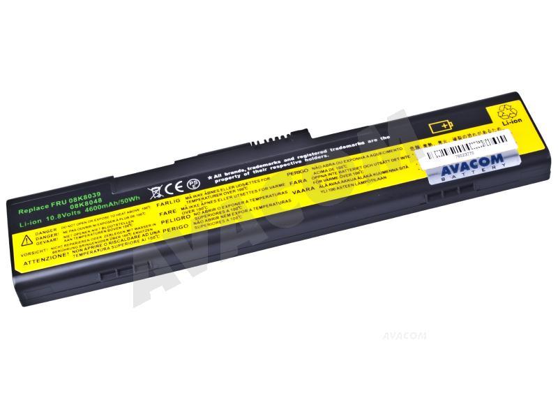 Náhradní baterie AVACOM IBM ThinkPad X30/X31 Series Li-Ion 10,8V 4600mAh - NOIB-X30-082
