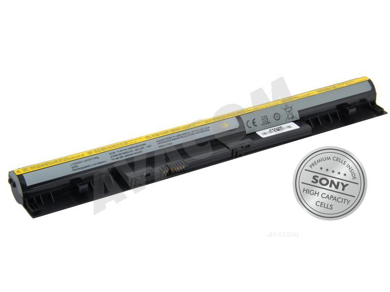 Náhradní baterie AVACOM Lenovo IdeaPad S400 Li-Ion 14,8V 2900mAh/ 43Wh black - NOLE-S400-S29