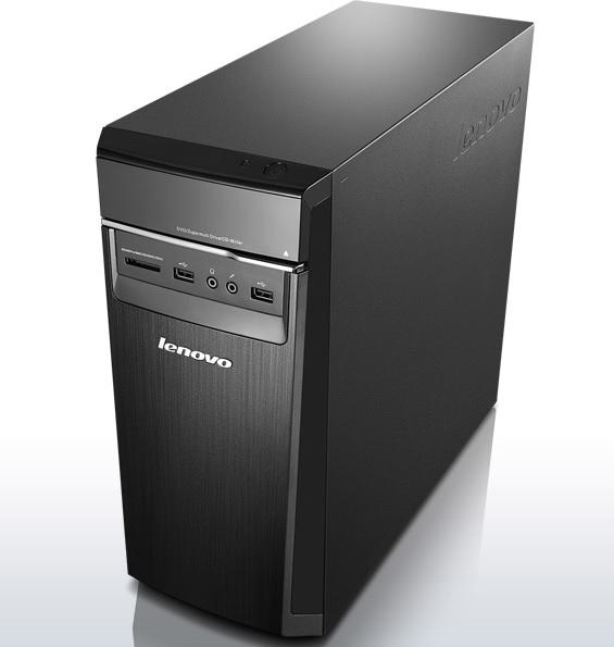 Lenovo DT IdeaCentre H50-55 A10-7800 3.90 GHz/8GB/SSD 120GB+HDD 1TB/GeForce 2GB/DVD-RW/tower 20l/W - 90BF004BCK