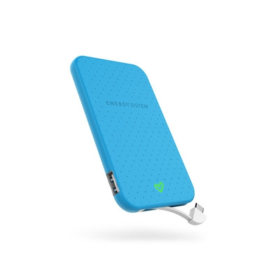 ENERGY Extra Battery 2500 Blue, přenosný velmi kompaktní akumulátor pro Vaše mobilní zařízení - 424429