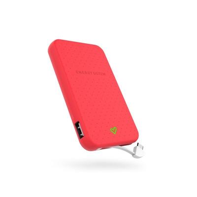 ENERGY Extra Battery 5000 Coral, přenosný velmi kompaktní akumulátor pro Vaše mobilní zařízení - 424580