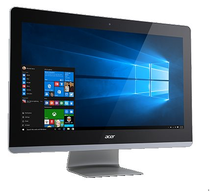 """Acer Aspire Z3-705 ALL-IN-ONE 21,5"""" LED FHD/Ci35005U/4GB/1TB/DVDRWUSB/Webcam/BT/W10 Home - DQ.B3QEC.002"""