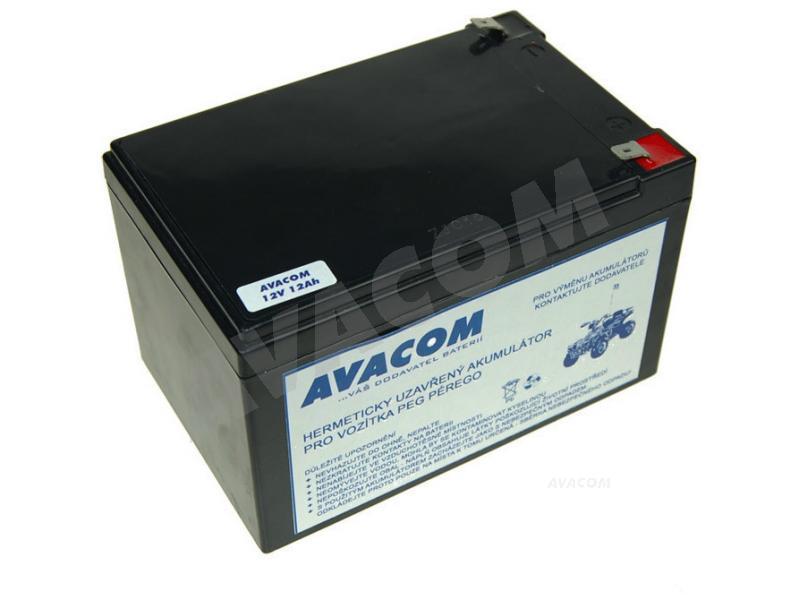 AVACOM Náhradní baterie (olověný akumulátor) 12V 12Ah do vozítka Peg Pérego F2 - PBPP-12V012-F2A