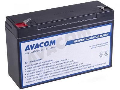 AVACOM Náhradní baterie (olověný akumulátor) 6V 12Ah do vozítka Peg Pérego F1 - PBPP-6V012-F1A