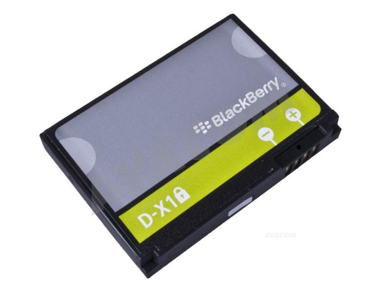 Originální baterie BlackBerry D-X1 Li-Ion 3,7V 1400mAh, bulk - D-X1 Bulk