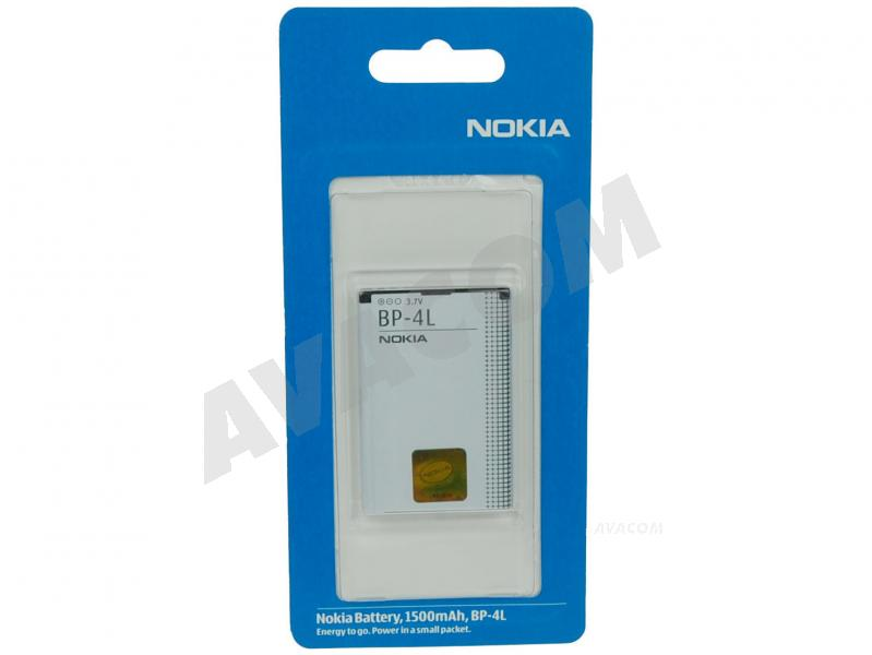 Originální baterie Nokia BP-4L Li-pol 3,6V 1500mAh pro E90 - BP-4L