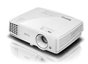 Fotografie BenQ DLP Projektor MS527 3D/800x600 SVGA/3300ANSI/13000:1/HDMI/1x2W repro