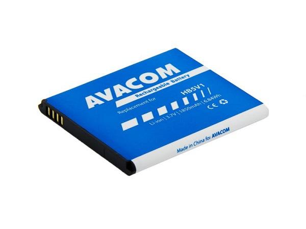Fotografie Náhradní baterie AVACOM Baterie do mobilu Huawei Ascend Y300 Li-Ion 3,7V 1850mAh, (náhrada HB5V1) - GSHU-HB5V1-2100
