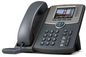 Fotografie Cisco SPA525G2 - IP telefon, 5 linek, PoE, barevný LCD displej, WiFi, Bluetooth - SPA525G2-EU