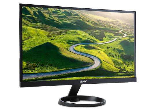 """Acer LCD R231BMID 23"""" W IPS LED/1920x1080/100M:1/4ms/250nits/DVI/HDMI/ZeroFrame/Acer EcoDisplay - UM.VR1EE.001"""