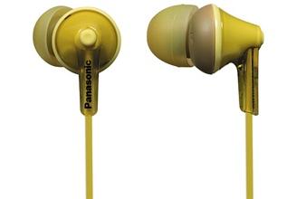 Panasonic RP-HJE125E-Y, Yellow - RP-HJE125E-Y