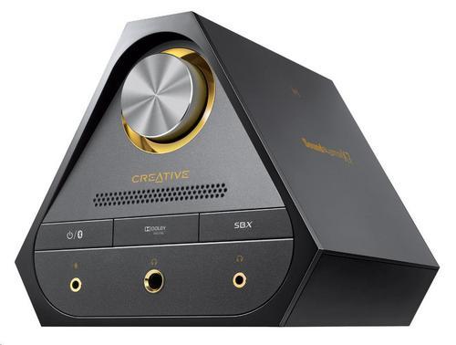 CREATIVE Sound Blaster X7, digitálně-analogový převodník s USB, zesilovač zvuku s dekodérem Dolby Di - 70SB158000000