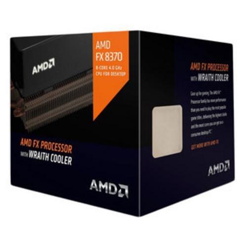 AMD cpu FX 8-Core 8370 Box AM3+ chladič Wraith (4.0GHz / 4.3GHz, 8MB+8MB cache, 125W, 8jádro) - FD8370FRHKHBX