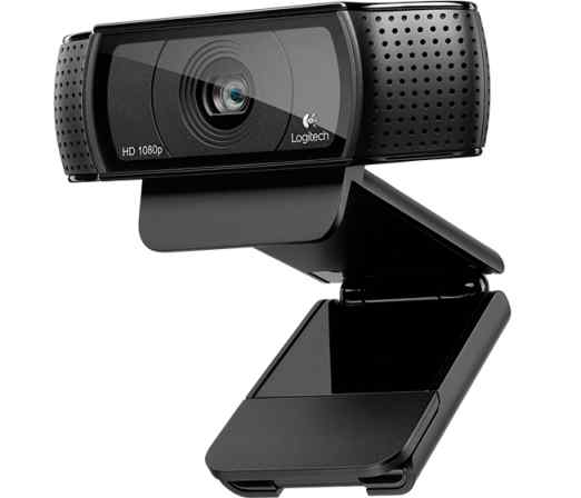 Logitech HD Webcam C920, 1920x1080, stereo mikrofon - 960-001055