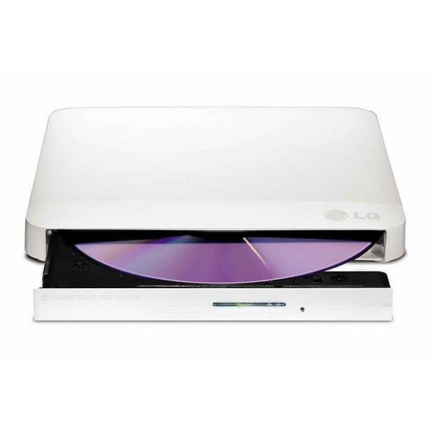 LG GP57EW40 Externí Slim DVD vypalovací mechanika bílá - GP57EW40.AUAE10B