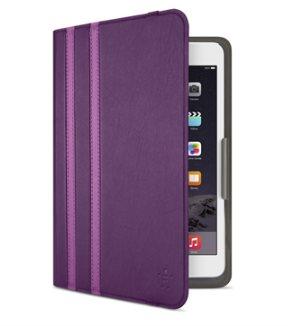 Belkin iPad mini 1/2/3/4 Twin Stripe Folio pouzdro, fialové - F7N324btC01