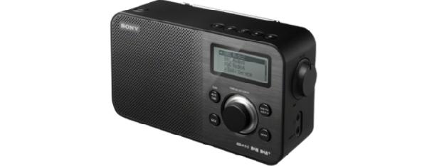SONY XDR-S60DBP Digitální rádio DAB+/DAB/FM - BLACK - XDRS60DBPB.CED