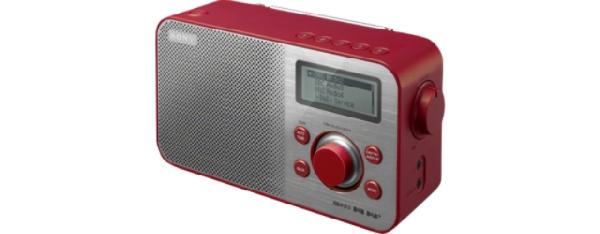 SONY XDR-S60DBP Digitální rádio DAB+/DAB/FM - RED - XDRS60DBPR.CED