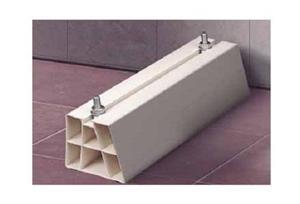 Konzole Midea/Comfee podlahová plastová 100x100mm, nosnost 400kg, 1pár - 775016