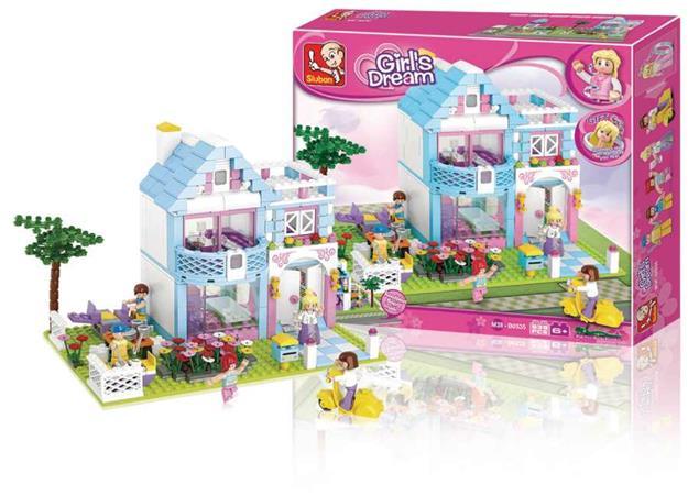 Sluban M38-B0535 - Girls Dream Series - Family House - M38-B0535