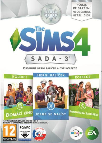 Electronic Arts PC hra The Sims 4 Bundle Pack 3 - 1032051