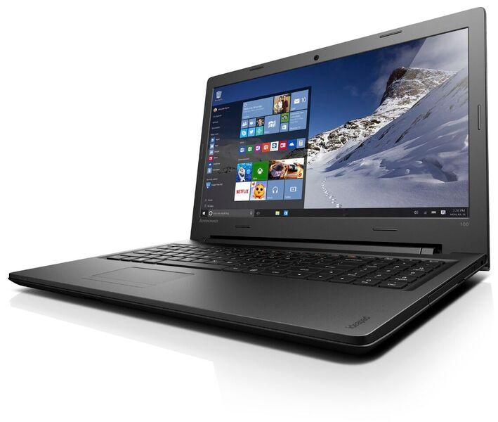 Lenovo IdeaPad 100-15IBD i3-5005U 2,00GHz/4GB/1TB/15,6 HD/DVD-RW/WIN10 černá 80QQ010RCK - 80QQ010RCK