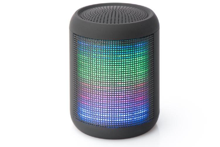 Ednet Mellow LED Bluetooth reproduktor, BT 3.0 FM radio, 4 světelné motivy, 3W výstup, hands-free 1 - 33050