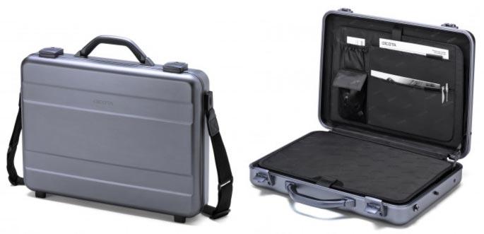 "Dicota Alu Briefcase 14"" - 15.6"" hliníkový kufřík - D30588"
