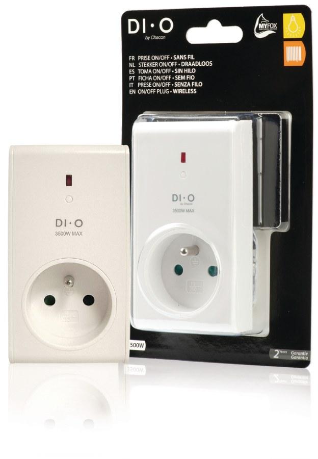 DI-O dálkově ovládaná zásuvka - DIO-DOMO44F