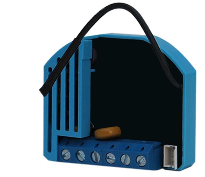 QUBINO stmívač modul, vestavný, 1x 230V, stmívání / ovládání ventilátoru, měření spotřeby, - ZMNHDD1
