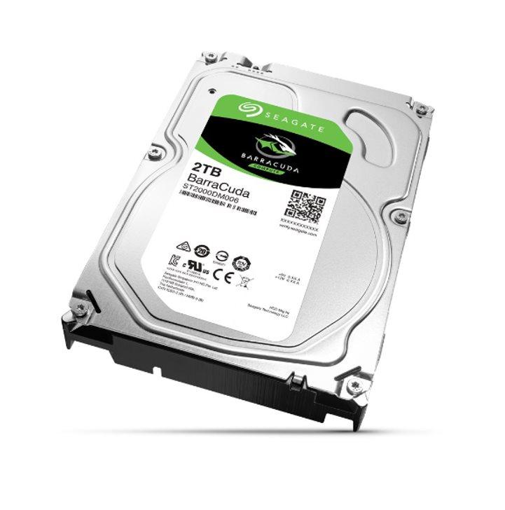 """Seagate BarraCuda HDD, 2TB, 3.5"""", SATAIII, 64MB cache, 7.200RPM - ST2000DM006"""