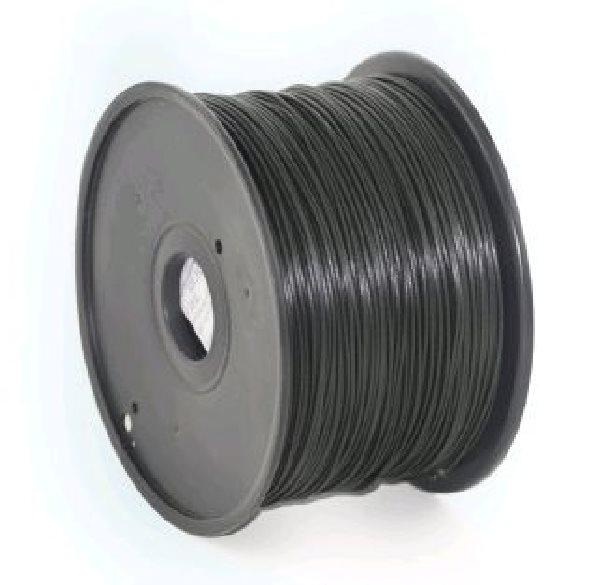 Tisková struna (filament) GEMBIRD, ABS, 1,75mm, 1kg, černá - 3DP-ABS1.75-01-BK