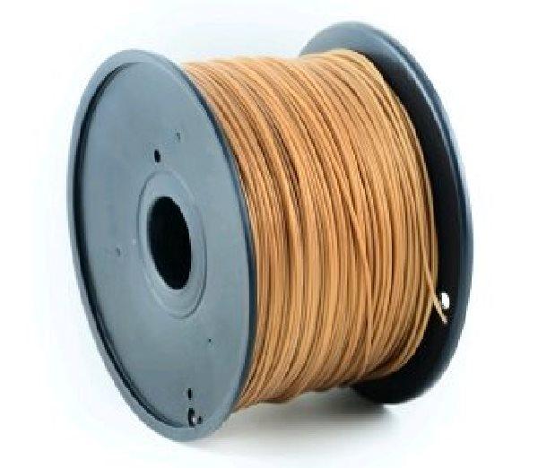 Tisková struna (filament) GEMBIRD, ABS, 1,75mm, 1kg, zlatá - 3DP-ABS1.75-01-GL