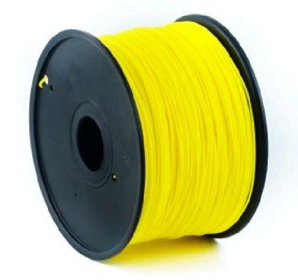 Tisková struna (filament) GEMBIRD, ABS, 1,75mm, 1kg, žlutá - 3DP-ABS1.75-01-Y