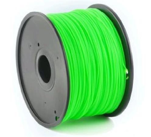 Tisková struna (filament) GEMBIRD, PLA, 1,75mm, 1kg, zelená - 3DP-PLA1.75-01-G