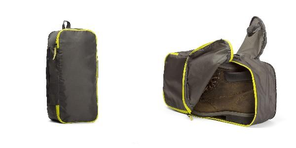 Crumpler The Intern Dirty/Clean Shoe Case L - light brown/yellow - TIDCS-L-001