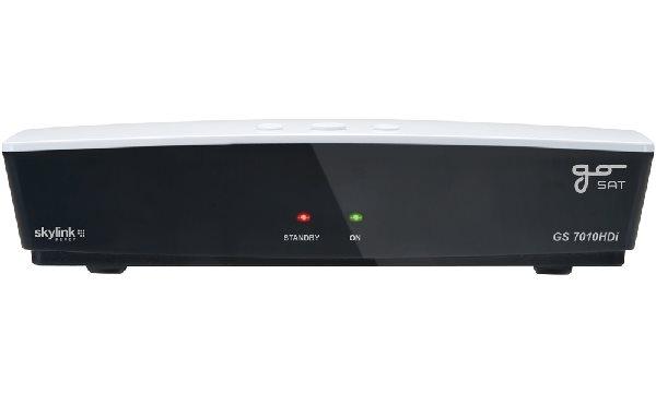 GoSAT DVB-S2 HD přijímač GS 7010HDi/ Skylink ready/ napájení 12V/ Full HD/ čtečka karet/ MPEG4/ HDMI - SRGS7010