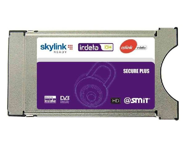 SMIT dekódovací CA modul IRDETO (CI+ Skylink, CS Link, T-Mobile a Freesat) - CAMSMIR100