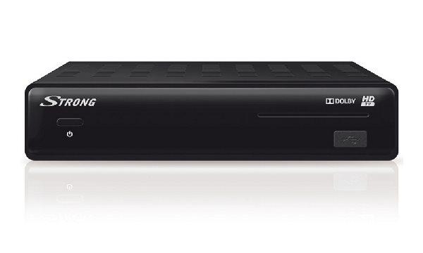 STRONG DVB-S2 HD přijímač SRT 7504 Irdeto/ Full HD/ S/PDIF/ Timeshift/ napájení 12V/ HDMI/ USB/ SCAR - SRSRT7504