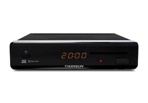 THOMSON DVB-S2 přijímač HD THS 813/ Full HD/ čtečka karet/ USB/ HDMI/ SCART/ S/PDIF/ Timeshift/ Fast - SRTHS813