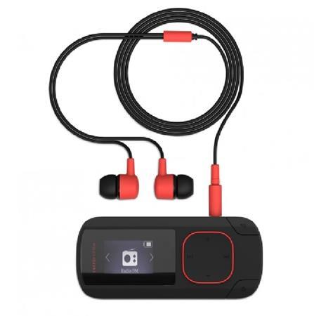 ENERGY MP3 Clip Bluetooth Coral (8GB, MicroSD, FM, sluchátka) - 426492