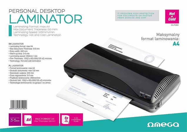 OMEGA laminátor A4 - OLP280