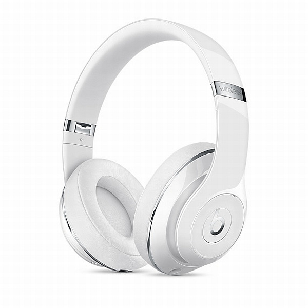 Apple Beats by Dr. Dre Studio Wireless Over-Ear Headphones - Gloss White - MP1F2ZM/A