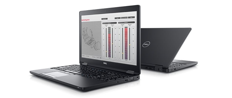 """DELL Precision M3510/Core i5-6440HQ/8GB/1TB /W5130M/15.6"""" FHD/Win 7/10 Pro 64bit/Black - GM2MC"""